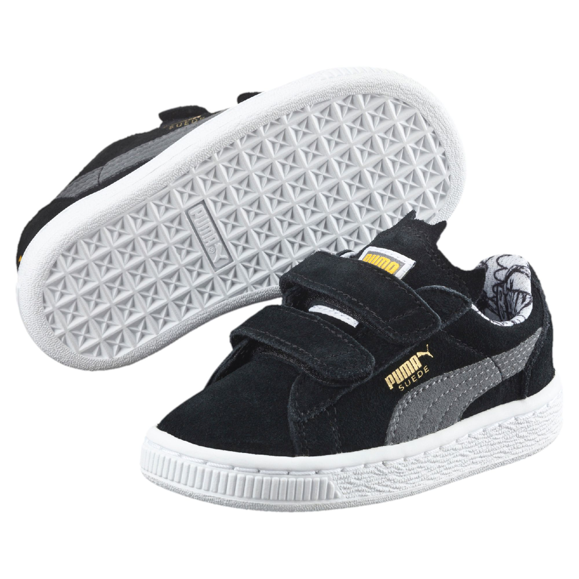 PUMA-Suede-Batman-Baby-Trainers-Kids-Low-Boot-