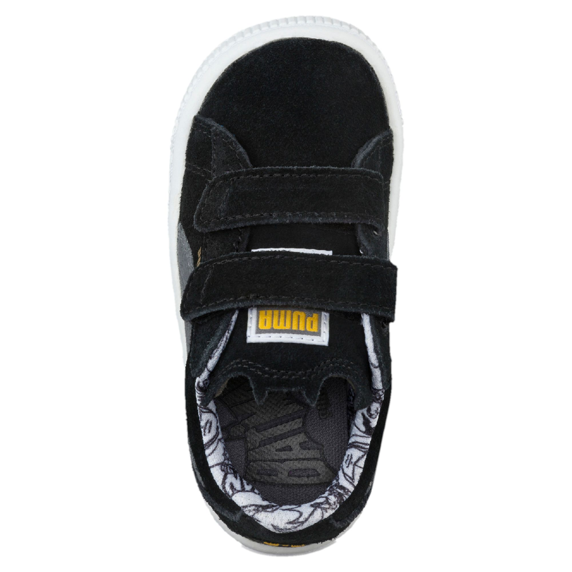 101e741781f PUMA Suede Batman® Baby Trainers Kids Low Boot Unisex New