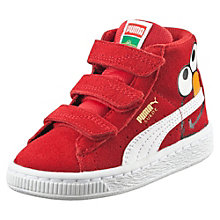 Suede Mid Sesame Street® Elmo Baby High Tops