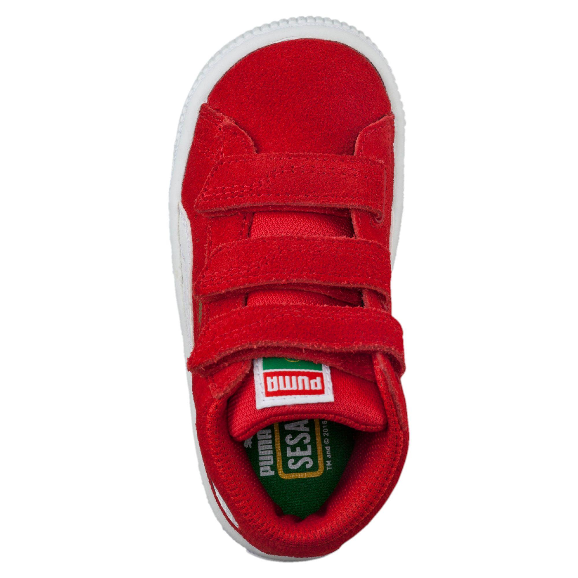 302df86a7536 PUMA Suede Mid Sesame Street® Elmo Baby High Tops Kids Mid Boot ...