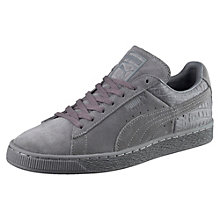 Suede Classic Casual Emboss Sneaker