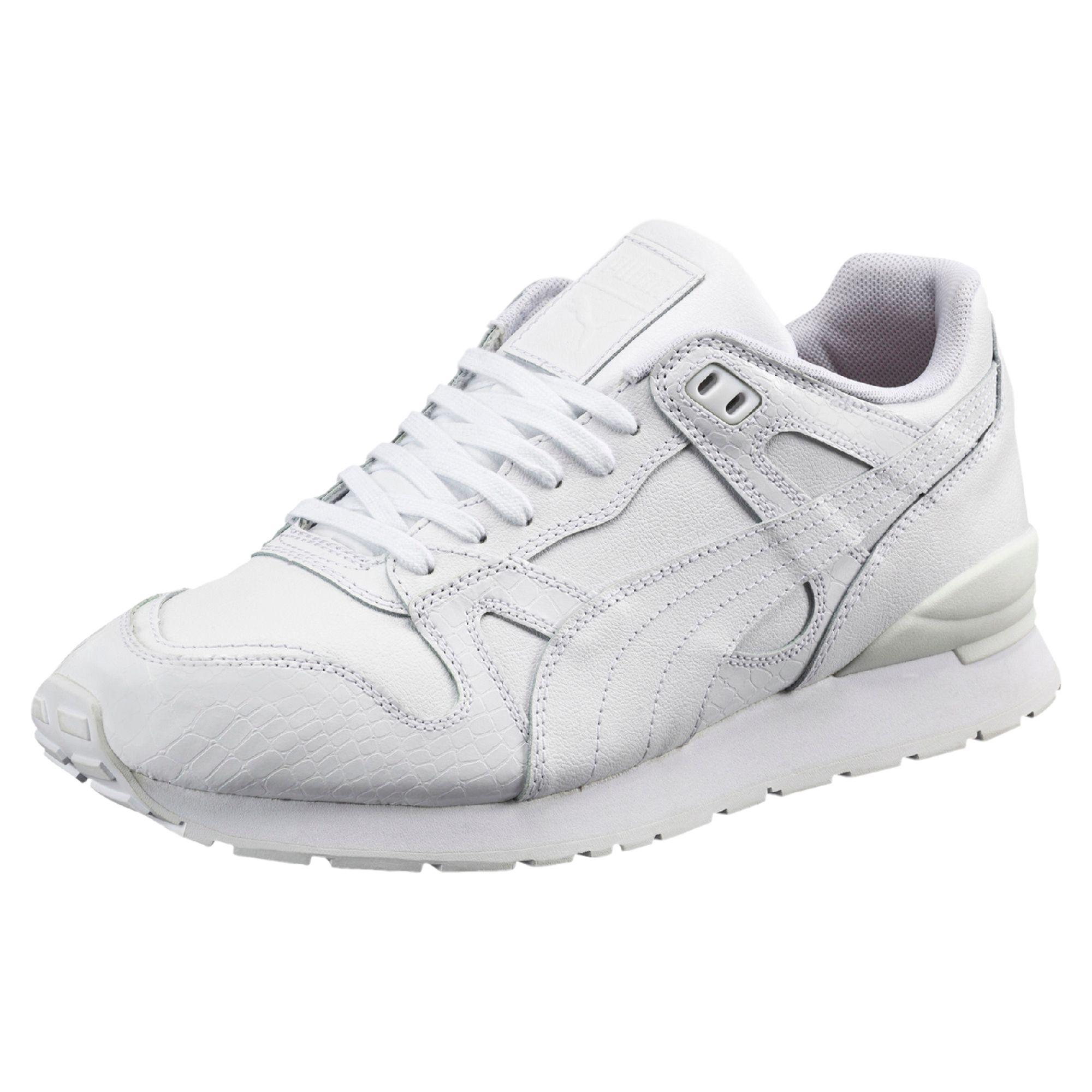 PUMA Duplex Citi Trainers Sport TYAW-Chaussures pour Hommes Chaussures Plates à Tête Ronde Fibre Super Couleur Solide Bouche Peu Profonde EvECMeDOt