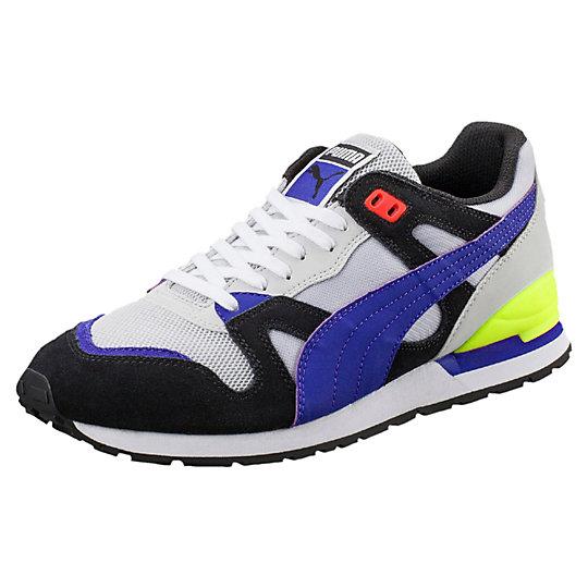 Кроссовки Duplex ColorblockКроссовки и кеды<br>Кроссовки Duplex Colorblock<br>Duplex, любимая модель 90-х, когда отмечался бум популярности беговой обуви, возвращается в обновленных расцветках и современных материалах. Данная модель кроссовок выполненна в насыщенных ярких цветах и позаимствована из дизайна спортивной одежды PUMA прошлых лет.<br><br>Коллекция: Осень-зима 2016<br>Материал верха: Нейлон, сетка и замша<br>Материал подошвы: Резина<br>Вид спорта: Бег<br>Легкая промежуточная подошва EVA с хорошей амортизацией<br>Страна-производитель: Тайвань<br><br><br>size RU: 41.5<br>gender: Male