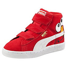 Suede Mid Sesame Street® Elmo Kids' High Tops