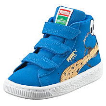 Suede Mid Sesame Street® Cookie Monster Baby High Tops