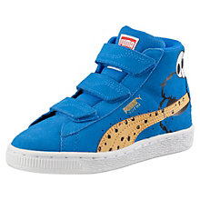 Suede Mid Sesame Street® Cookie Monster Kids' High Tops