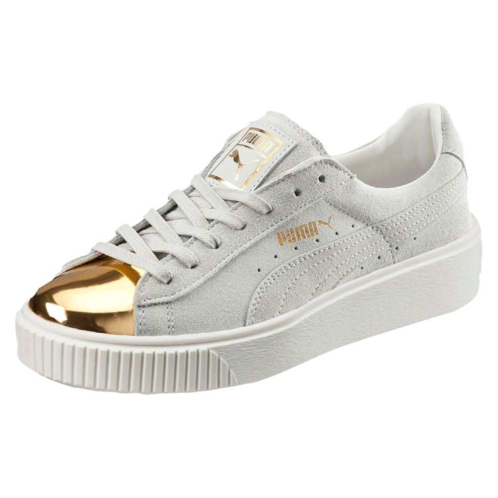 17be8424238bb9 PUMA Suede Platform Gold Women s Sneakers