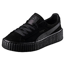 SUEDE CREEPERS SATIN