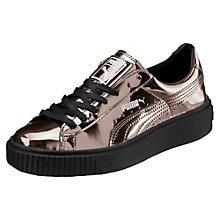 Basket Platform Metallic Damen Sneaker