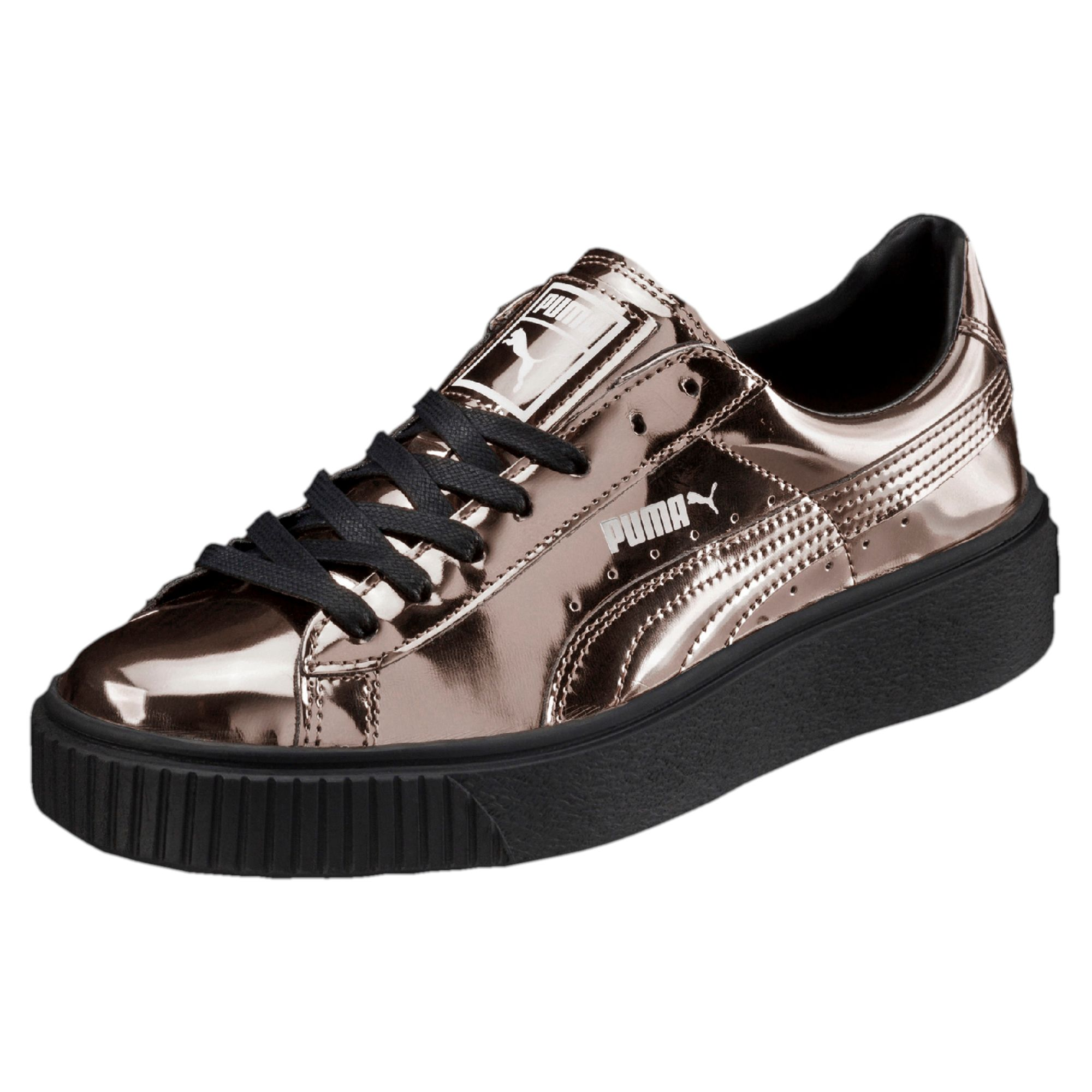 puma basket platform patent damen schuhe von. Black Bedroom Furniture Sets. Home Design Ideas