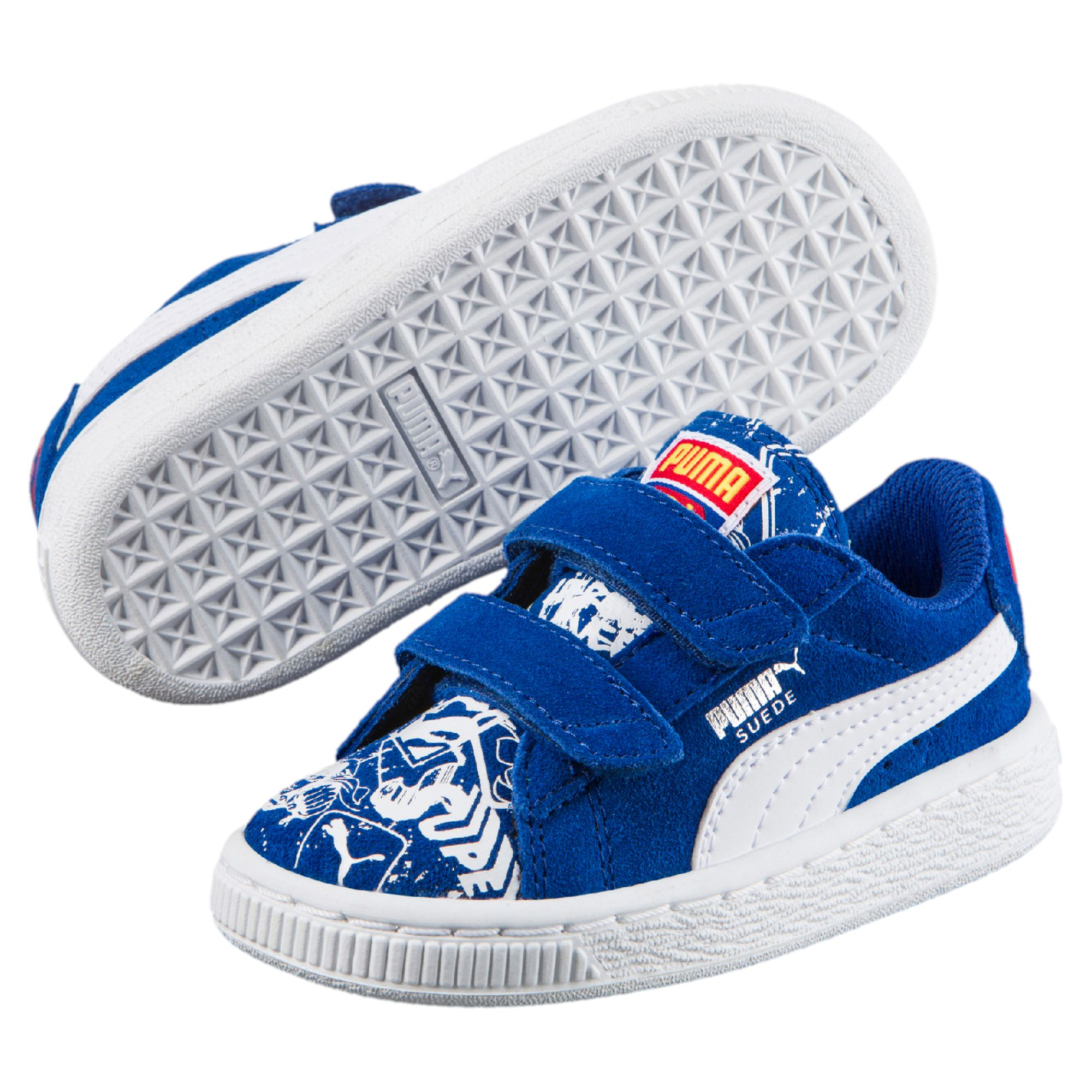 48d417852e7d PUMA Suede Superman™ Street Baby Trainers Kids Low Boot Unisex New ...