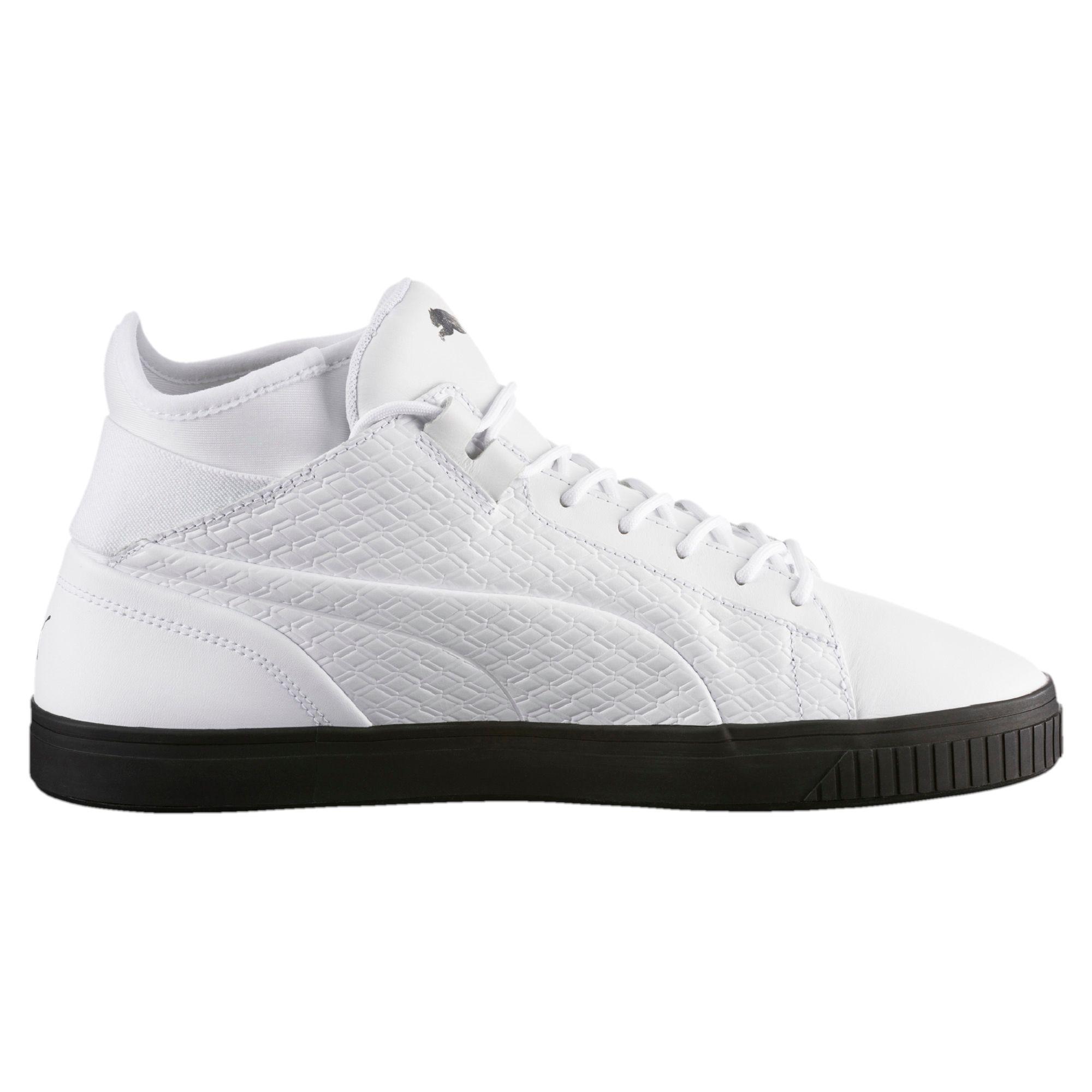 PUMA Evolution Play Black and White Sneaker Schuhe Männer Neu