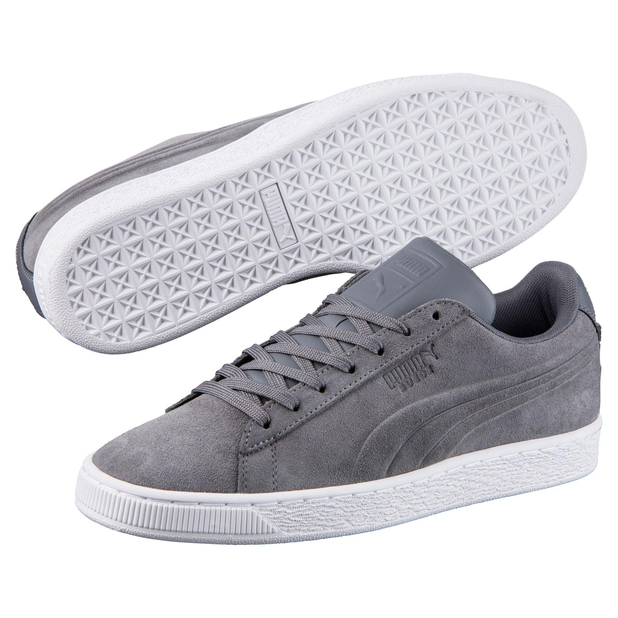 PUMA Suede Classic Embossed Trainers Unisex Zapatos Clásicos del deporte Nuevo