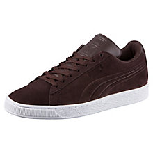 Suede Classic Embossed Trainers