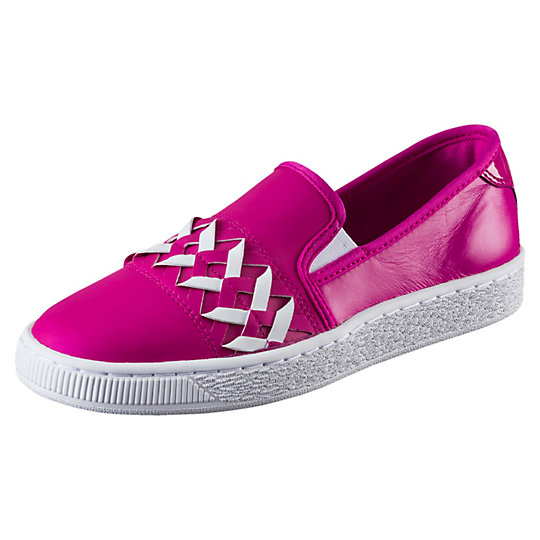 Basket Slip-on Cut-out Women's Trainers