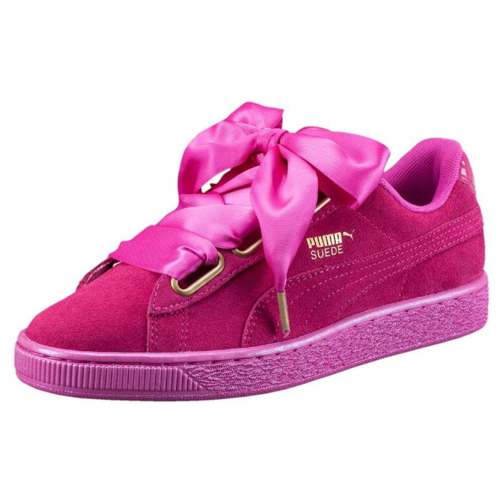puma suede heart satin women 39 s sneakers ebay. Black Bedroom Furniture Sets. Home Design Ideas