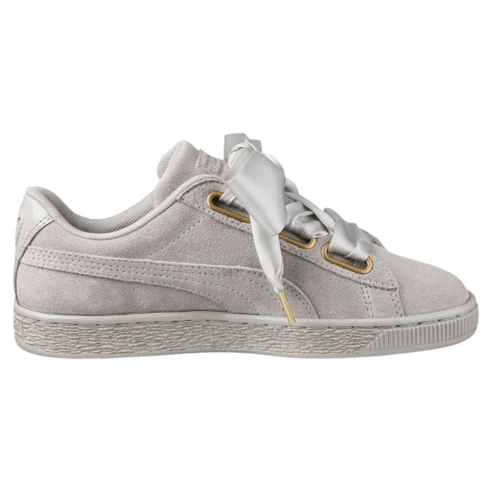 puma heart suede grise 36