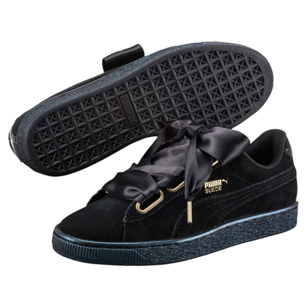 puma suede heart satin women 39 s sneakers. Black Bedroom Furniture Sets. Home Design Ideas