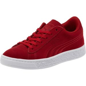 Suede Classic Badge Pre School Trainers