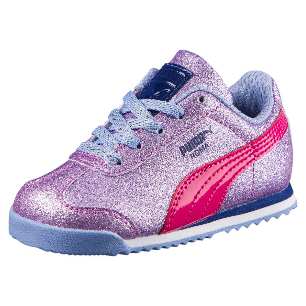 PUMA Roma Glitter Kids Sneakers | eBay