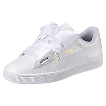Puma Basket Heart Rosa