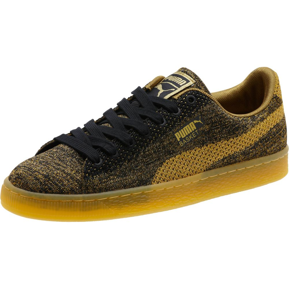 puma basket gold