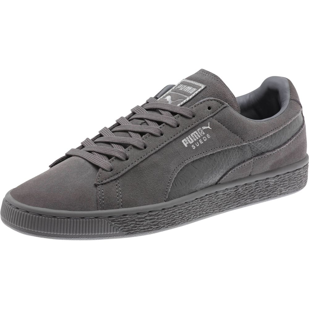 puma suede classic mono reptile men 39 s sneakers ebay. Black Bedroom Furniture Sets. Home Design Ideas