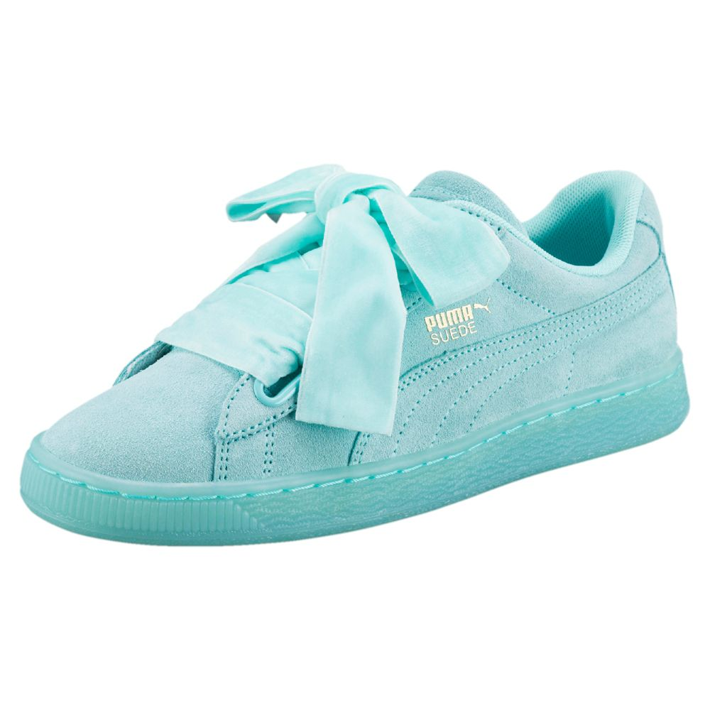 puma suede heart reset women s sneakers ebay. Black Bedroom Furniture Sets. Home Design Ideas