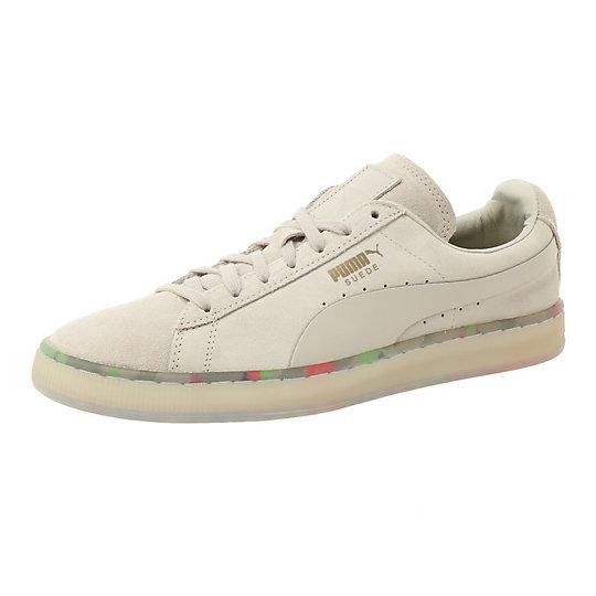 プーマ SUEDE CLASSIC V2 ユニセックス Oatmeal-Puma White【靴  メンズシューズ  スニーカー】PUMA プーマ【サイズ 28,29,26/ベージュ】メンズ  シューズ  スニーカー