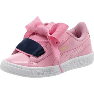 Basket Heart Patent Youth Trainers