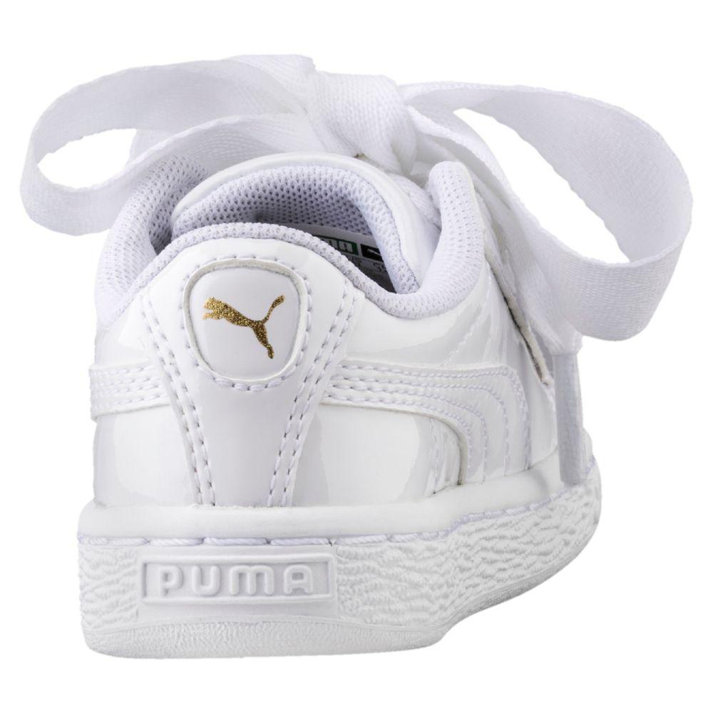 tênis puma basket heart patent ps infantil