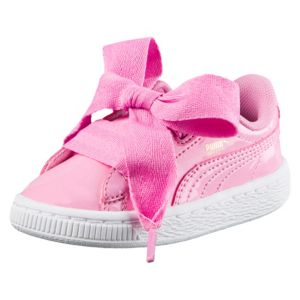 Basket Heart Patent Girls' Trainers