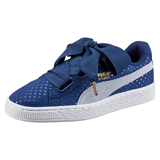 Basket Heart Denim Damen Sneaker