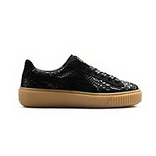 Women's Basket Platform Exotic Skin