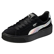 Basket Platform Explosive Black Women's Trainers