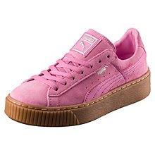 Suede Platform Girls' Trainers