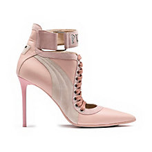 LACE UP HEEL