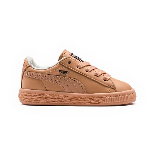 PUMA x TINYCOTTONS Baby Basket Leather
