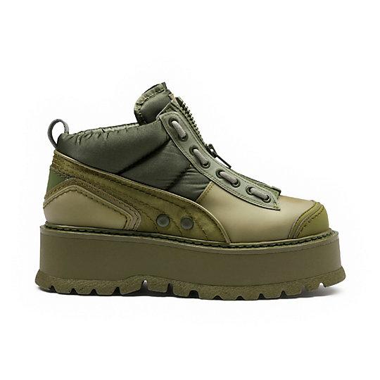 Zipped Men's Sneaker Boots
