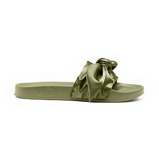 Damen Bow Slide Sandalen