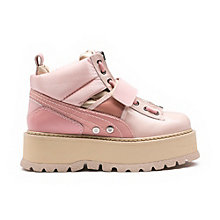 Strapped Women's Sneaker Boots