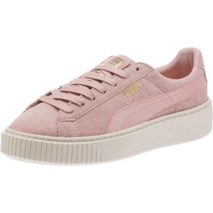 Suede Platform Satin Women's Trainers