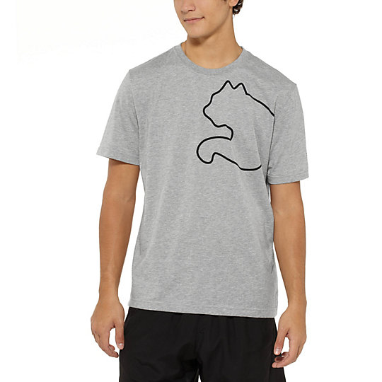 Faas Heathered Cat T-Shirt