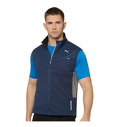 Cross Graphic Running Vest