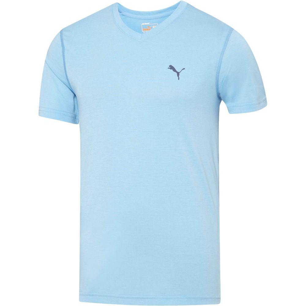 Puma Essential V Neck T Shirt Ebay