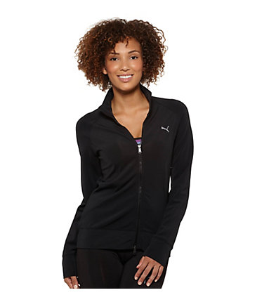 Fitness Zip-Up Top