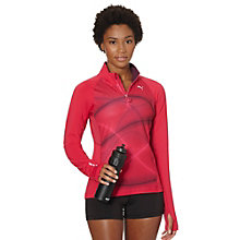 Graphic 1-Up Long Sleeve Running Top