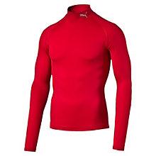 LITE COMPRESSION モックネックLSシャツ