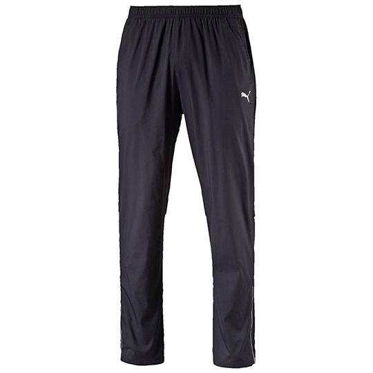 Брюки PE_Running_Woven PantБрюки<br>Брюки PE_Running_Woven Pant<br>Эти легкие брюки предназначены для пробежек в прохладную и ветреную погоду. Обеспечивая максимальную эффективность и комфорт во время тренировок, позволяют сконцентрироваться на достижении высоких результатов. <br><br>Коллекция: Осень-зима 2016<br>Состав: 100% нейлон<br>Технологии: windCell надежно защищает от холодного ветра и поддерживает комфортную температуру тела в течение всей тренировки<br>Вид спорта: Бег<br>Стойкое водоотталкивающее покрытие (DWR)<br>Специальные разрезы улучшают циркуляцию воздуха<br>Финальная влагоотводящая обработка на основе биотехнологий сохраняет кожу сухой<br>Артикулированный покрой коленей дарит свободу движений<br>Светоотражающие элементы улучшают видимость<br>Функциональные молнии в штанинах<br>Карман для мелочей<br>Страна-производитель: Гонконг<br><br><br>color: черный<br>size RU: 50-52<br>gender: Male