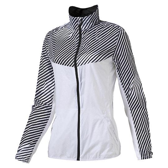 Олимпийка Graphic Woven Jacket WОлимпийки<br>Олимпийка Graphic Woven Jacket WМаксимальная защита с этой легкой курткой для бега. Благодаря технологии windCELL, высокотехнологичный материал обеспечивает надежную защиту от ветра, оставаясь при этом «дышащим». Минимизирует потерю внутреннего тепла, защищая от переохлаждения ветром во время тренировок. Супер светоотражающая  застежка молнии обеспечивает дополнительную видимость в условиях плохого освещения.Сезон: Весна-лето 2016Материал windCELLВентиляционные прорези для лучшей циркуляции воздуха сзадиАнатомический крой воротника предотвращает трениеСветоотражающий логотип и другие элементы для лучшей видимости  в условиях плохого освещенияДва кармана по бокам  и карман на молнии сзади с отверстием для наушников внутриВетровка упаковывается в карман на спине, превращаясь в небольшую сумочку на молнии с эластичной резинкой, которую можно одеть на  кисть руки во время пробежкиМатериал верха: 100% нейлон; Подкладка: 100% полиэстер сетка, финальная влагоотводящая обработка на биологической основе<br><br>color: белый<br>size RU: 46-48<br>gender: Female